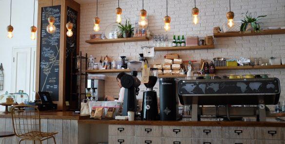 coffee shop, barista, cafe